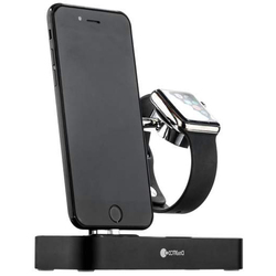 Док-станция для Apple iPhone, Apple Watch (COTEetCI Base Hub CS7200-BK) (черный)