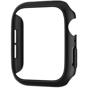 Чехол для Apple Watch Series 4 44 mm (Spigen Thin Fit 062CS24474) (черный)