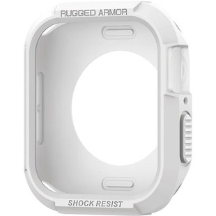 Чехол для Apple Watch 4 40mm (Spigen Rugged Armor 061CS24482) (белый)