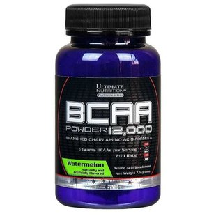 BCAA Ultimate Nutrition BCAA 12000 Flavored (7,6 г)