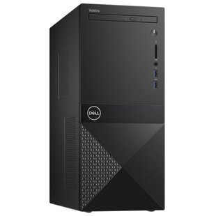 Настольный компьютер DELL Vostro 3670 (3670-3117) Mini-Tower/Intel Core i3-8100/4 ГБ/1000 ГБ HDD/Intel UHD Graphics 630/Windows 10 Home