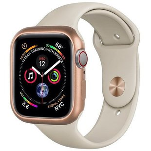 Чехол для Apple Watch series 4 44mm (COTEetCI Aluminium Magnet Case CS7058-GD) (золотистый)