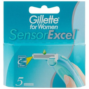 Gillette for Women Sensor Excel Сменные лезвия
