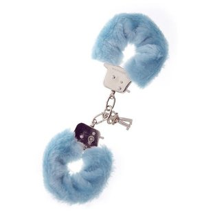 Dream Toys Меховые наручники METAL HANDCUFF WITH PLUSH