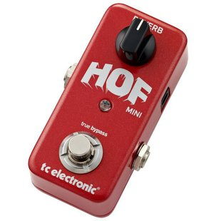 TC Electronic Педаль Hall of Fame Mini Reverb