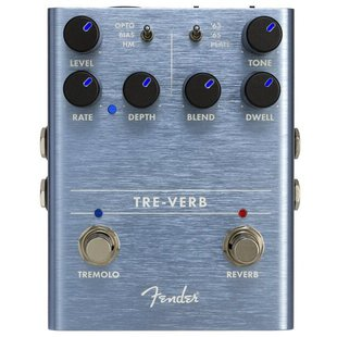 Fender Педаль Tre-Verb Digital Reverb/Tremolo