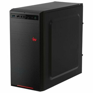Настольный компьютер iRu Home 120 MT (1187719) Mini-Tower/AMD E1-2500/4 ГБ/240 ГБ SSD/AMD Radeon HD 8240/Windows 10 Home